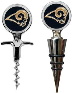 NFL St. Louis Rams Cork Screw & Wine Bottle Topper