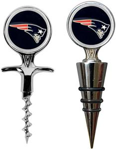 NFL New England Patriots Cork Screw/Bottle Topper
