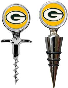 NFL Green Bay Packers Cork Screw & Bottle Topper