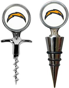 NFL San Diego Chargers Cork Screw & Bottle Topper