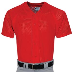 Champro Adult Pro-Plus Mesh Full Button Jersey C/O