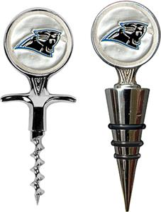 NFL Carolina Panthers Cork Screw & Bottle Topper