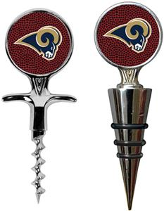 NFL St. Louis Rams Cork Screw/Wine Topper-GB