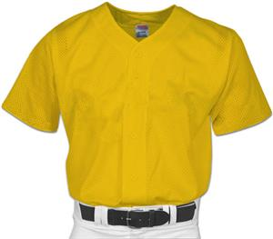 Adult Mesh Full Button Baseball Jersey Closeout