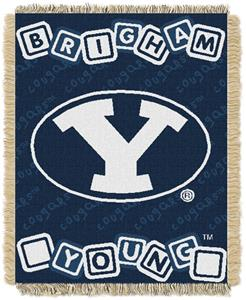 Northwest NCAA BYU Cougars Baby Throws
