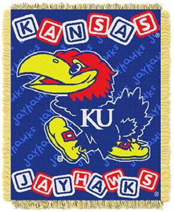 Northwest NCAA Kansas Jayhawks Baby Throws