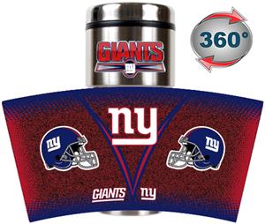 NFL New York Giants GameBall Travel Tumbler