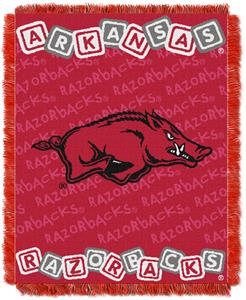 Northwest NCAA Arkansas Razorbacks Baby Throws