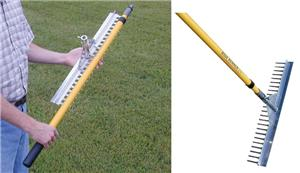 Baseball/Softball Landscape Base Runner Rake