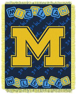Northwest NCAA Michigan Wolverines Baby Throws