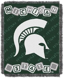Northwest NCAA Michigan State Baby Throws