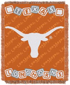 Northwest NCAA Texas Longhorns Baby Throws