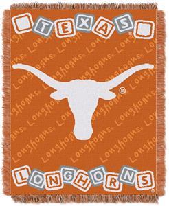 Northwest NCAA Texas Longhorns Baby Throws