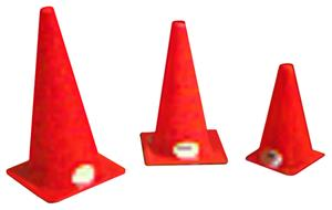 Tall Plastic Field Cones (Per Each)