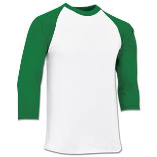Champro Veteran Cotton 3/4 Sleeve Baseball Jerseys