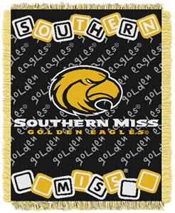 Northwest NCAA Southern Mississippi Baby Throws
