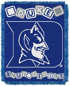 Northwest NCAA Duke University Baby Throws