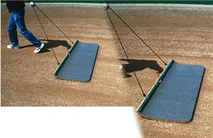 Baseball/Softball Cocoa Hand Drag Mat 4' / 6' Wide
