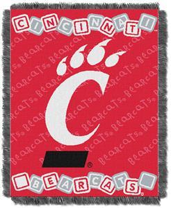 Northwest NCAA Cincinnati Bearcats Baby Throws
