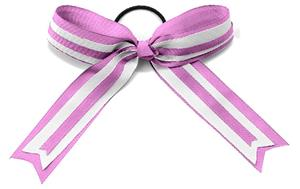 Alleson Cheerleaders Pink Hype Hair Bows-Closeout