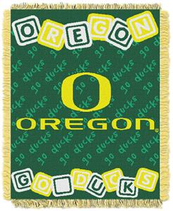 Northwest NCAA Oregon Ducks Baby Throws