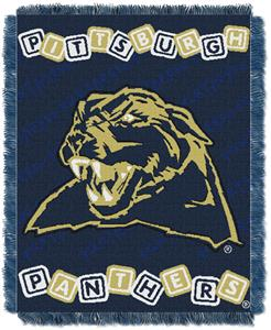 Northwest NCAA Pittsburgh Panthers Baby Throws