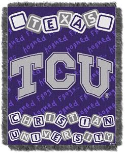 Northwest NCAA TCU Horned Frogs Baby Throws