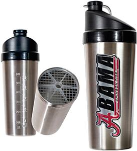 NCAA Alabama Crimson Tide Stainless Protein Shaker