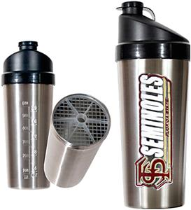 NCAA Florida State Stainless Protein Shaker