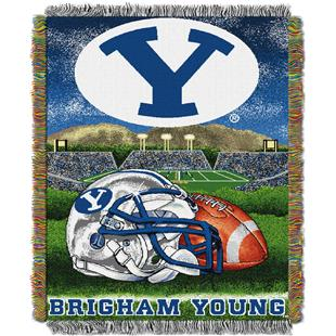 Northwest NCAA BYU Cougars HFA Tapestry Throws