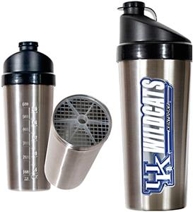 NCAA Kentucky Wildcats Stainless Protein Shaker
