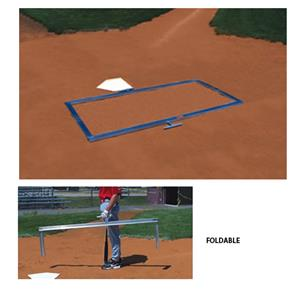Baseball Softball Foldable Batter&#39;s Box Template
