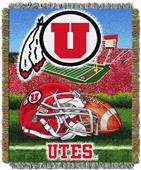 Northwest NCAA Utah Utes HFA Tapestry Throws