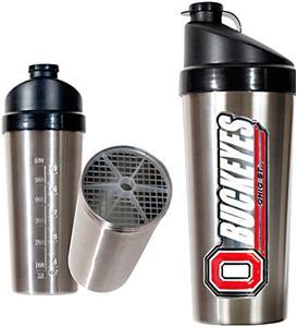 NCAA Ohio State Buckeyes Stainless Protein Shaker