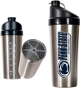 NCAA Penn State Stainless Protein Shaker