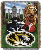 Northwest NCAA Missouri Tigers HFA Tapestry Throws