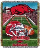 Northwest NCAA Arkansas HFA Tapestry Throws