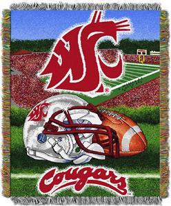 Northwest NCAA Washington State HFA Tapestry Throw