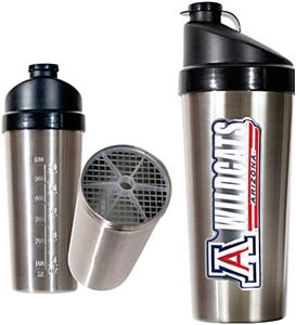 NCAA Arizona Wildcats Stainless Protein Shaker