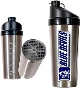 NCAA Duke Blue Devils Stainless Protein Shaker