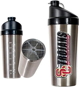 NCAA Southern California Stainless Protein Shaker