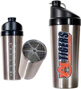 NCAA Auburn Tigers Stainless Protein Shaker