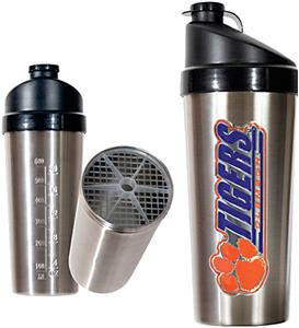 NCAA Clemson Tigers Stainless Protein Shaker