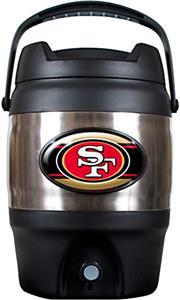 NFL San Francisco 49ers Jumbo 3 gal Tailgate Jug
