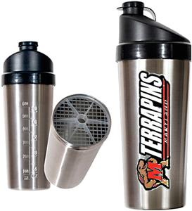 NCAA Maryland Terrapins Stainless Protein Shaker