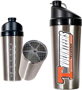 NCAA Tennessee Volunteers Stainless Protein Shaker