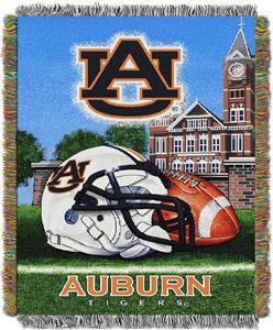 Northwest NCAA Auburn Tigers HFA Tapestry Throws
