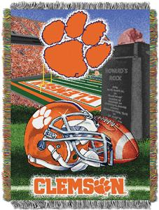 Northwest NCAA Clemson Tigers HFA Tapestry Throws