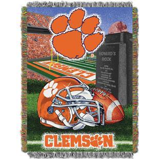 Northwest NCAA Clemson Tigers HFA Tapestry Throws