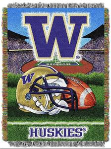 Northwest NCAA Washington HFA Tapestry Throws